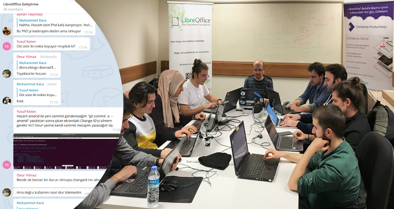 Ankara Dev Bootcamp: Mentor and students working together
