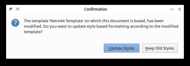 Writer: update template