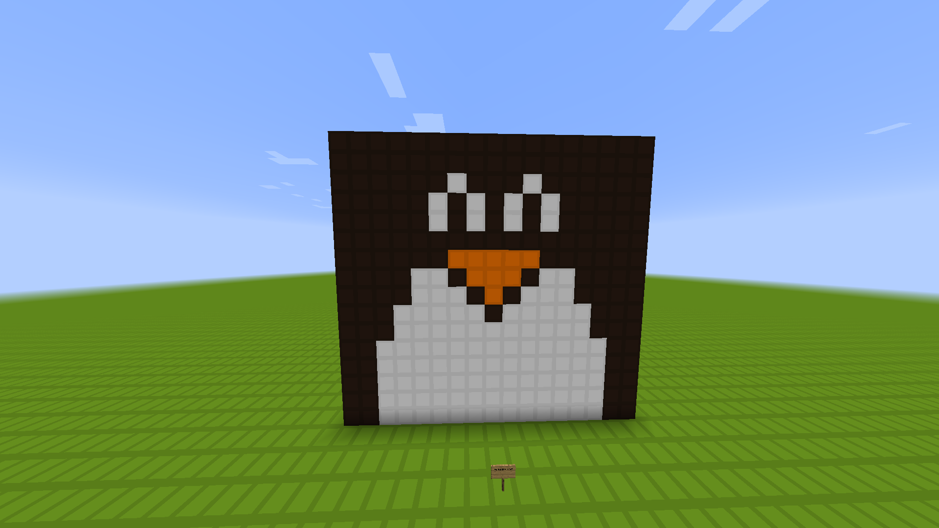 Minecraft building of my profile picture.