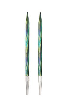 Multicolore KnitPro Basix Aiguilles /à Tricoter circulaires interchangeables Bouleau 11.6/cm x 3,25/mm