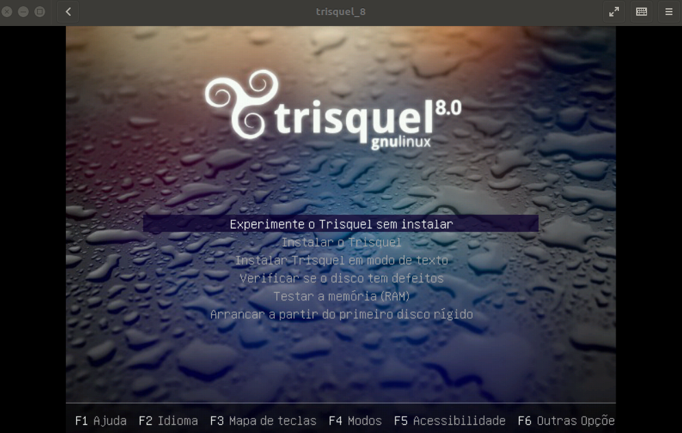 Experimental Trisquel