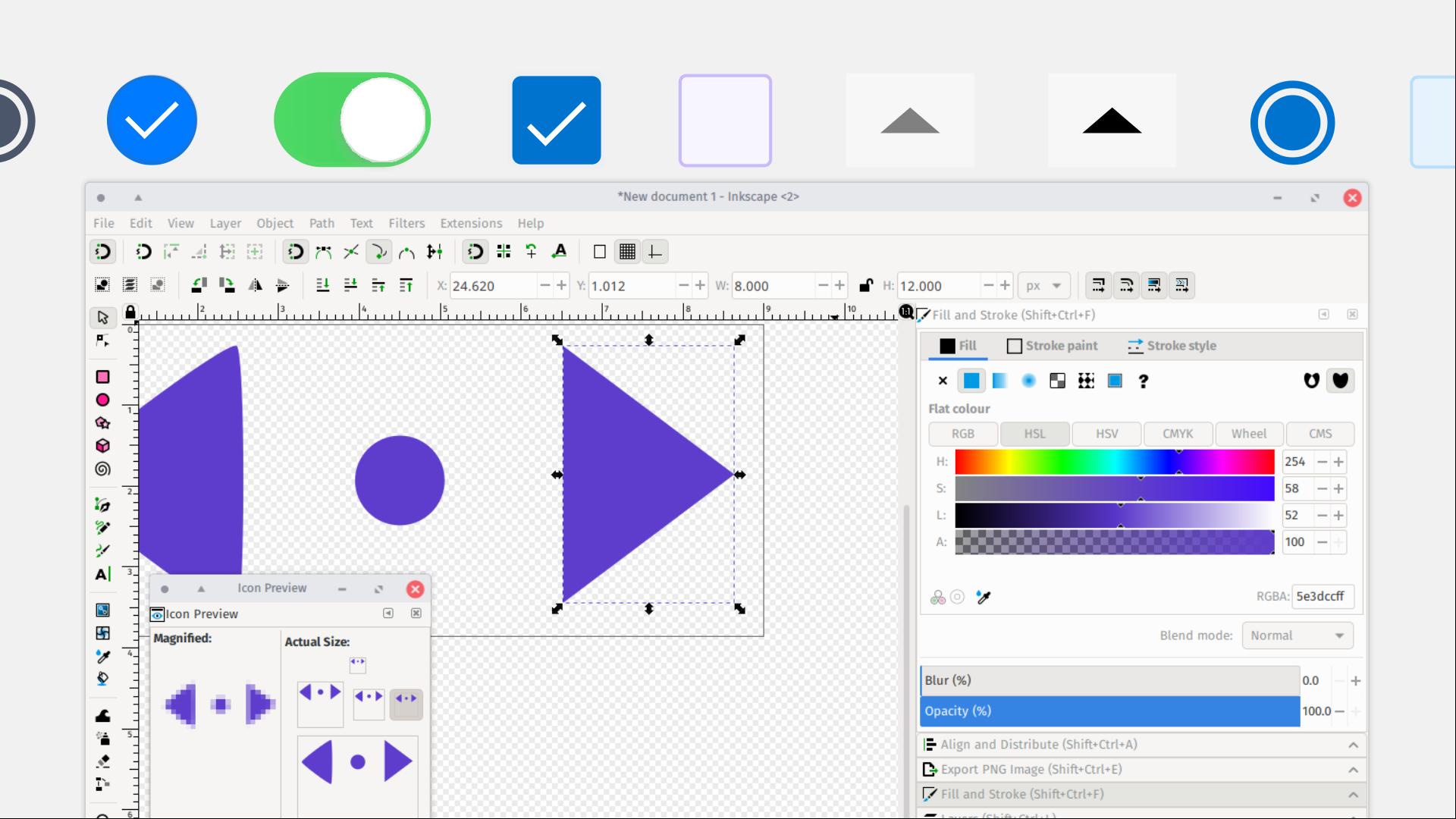LGM2020 slide: Inkscape