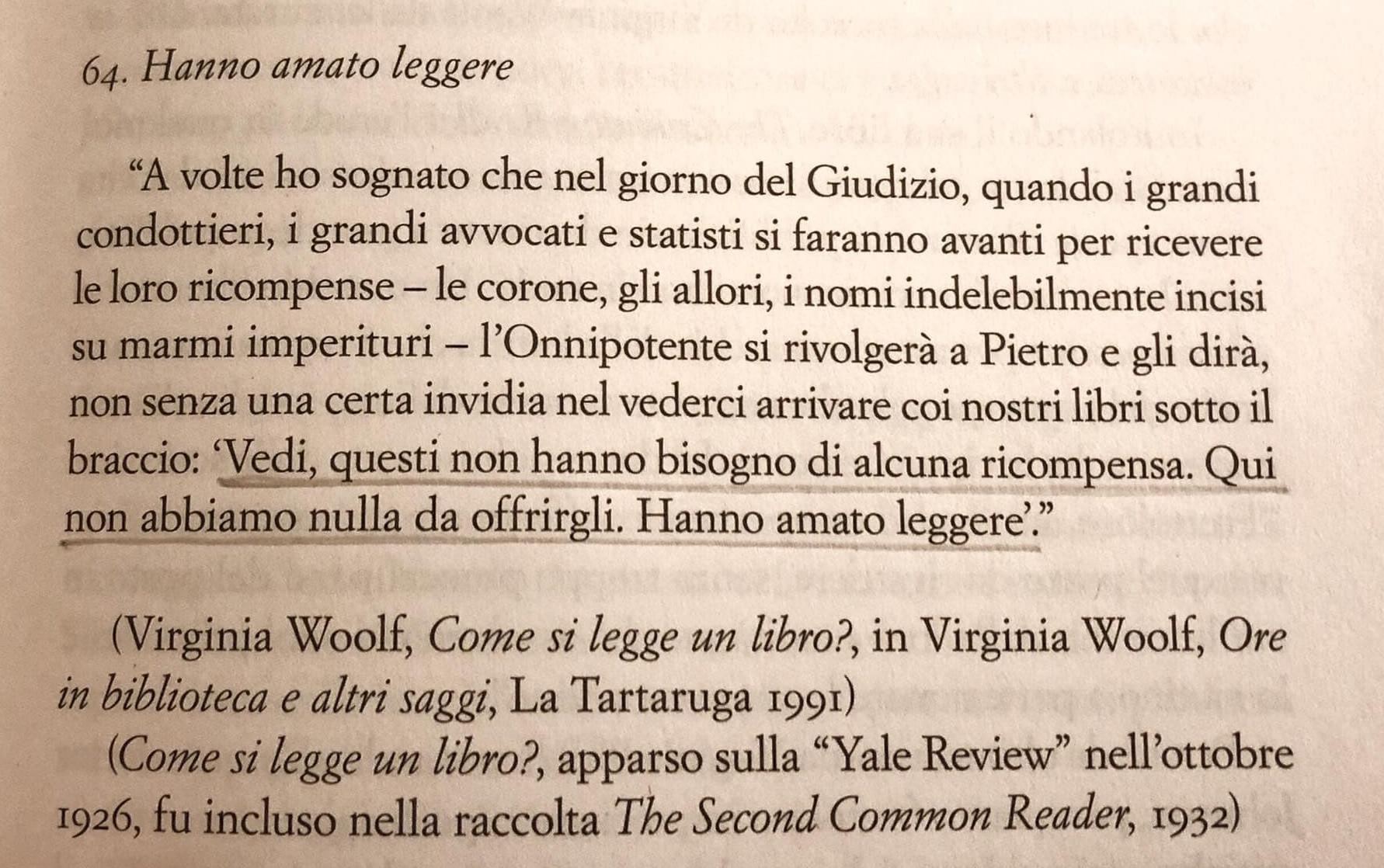 Testo citazione di Virginia Woolf