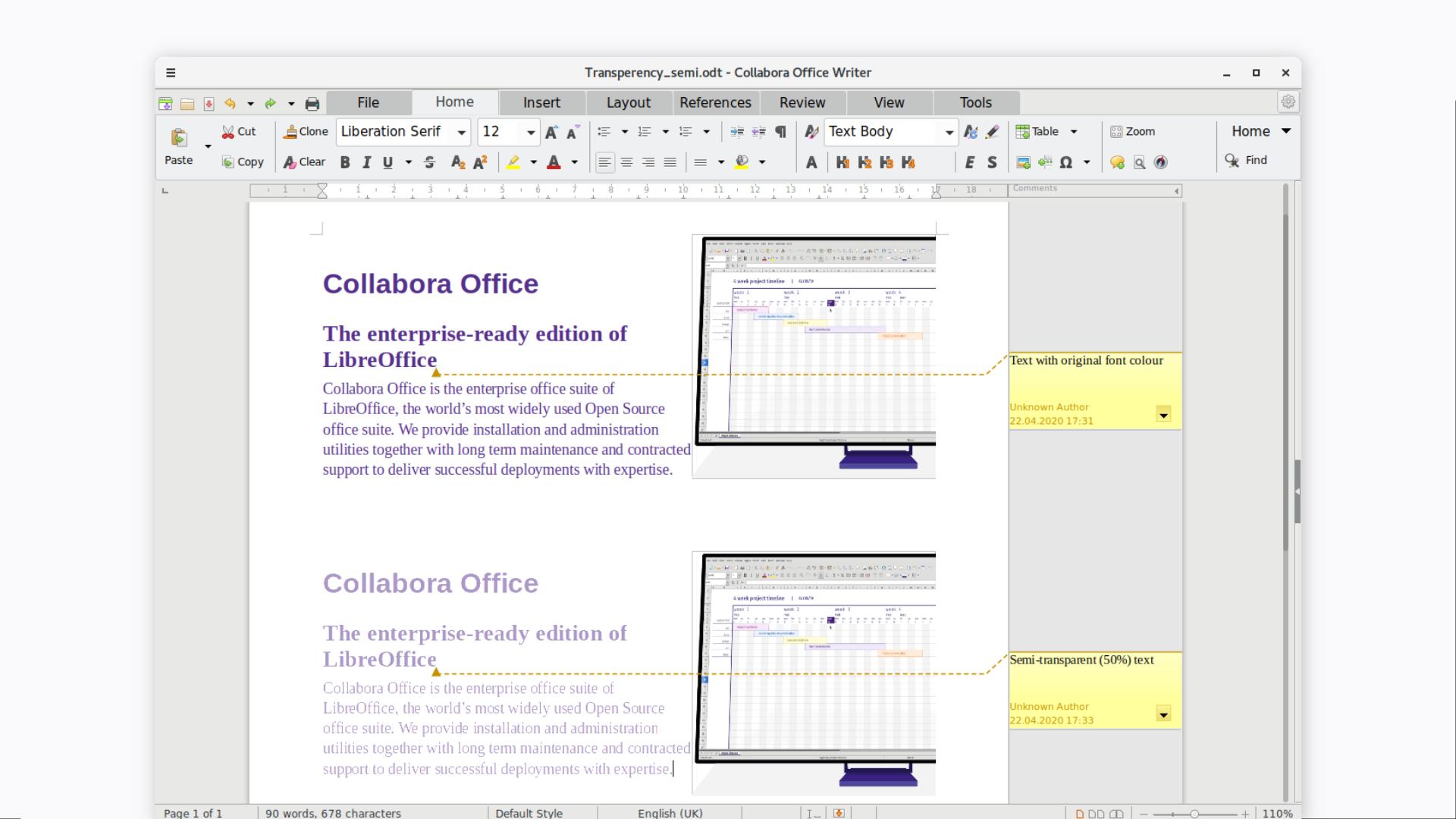 LGM2020 slide: LibreOffice
